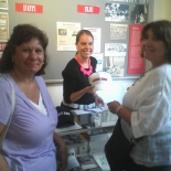 The gift at the West End Museum during the mini-reunion July 17, 2015