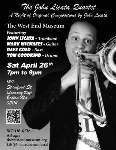 West End Museum to Host Jazz Week Concert Featuring The John Licata Quartet