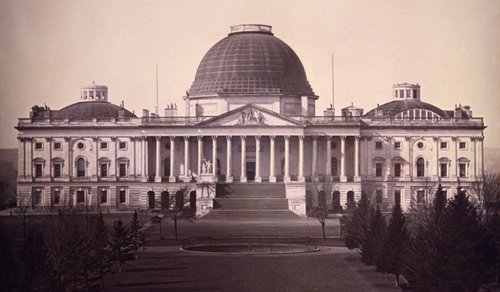 U.S. Capitol c.1846 (Courtesy Library of Congress)