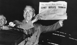 Dewey Defeats Truman/The Housing Act of 1949