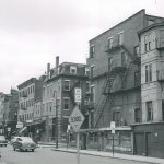 Looking south down Harrison Ave. (from Oswego St.), New York Streets, 1952; West End Museum Archives